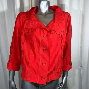 CHICOS  button down jacket